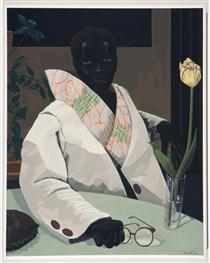 Portrait of a Curator (in Memory of Beryl Wright) - Kerry James Marshall