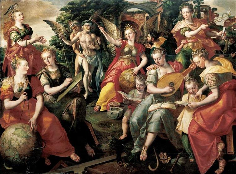 Seven Liberal Arts, 1590 - Maarten de Vos