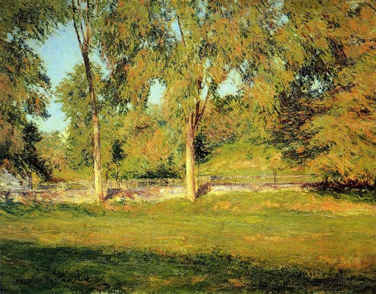 September Afternoon, c.1895 - Joseph DeCamp