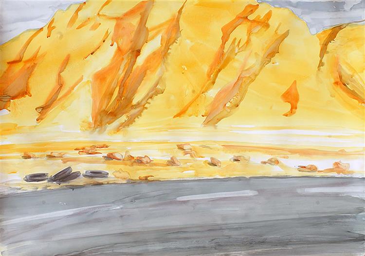Untitled, 1989 - Mostafa Dashti