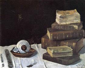 Still Life with Books - Henri Matisse