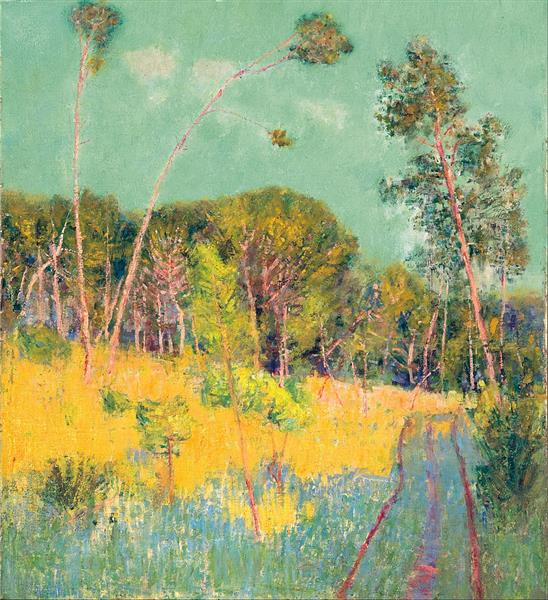 A Clearing in the Forest, 1891 - John Peter Russell