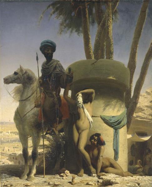La Pudeur Égyptienne, 1838 - Charles Gleyre