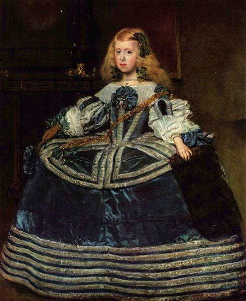 L'Infante Marguerite en bleu, c.1660 - Diego Vélasquez