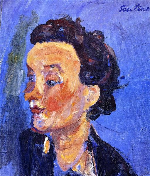 Young English Girl in Blue, c.1937 - Chaim Soutine