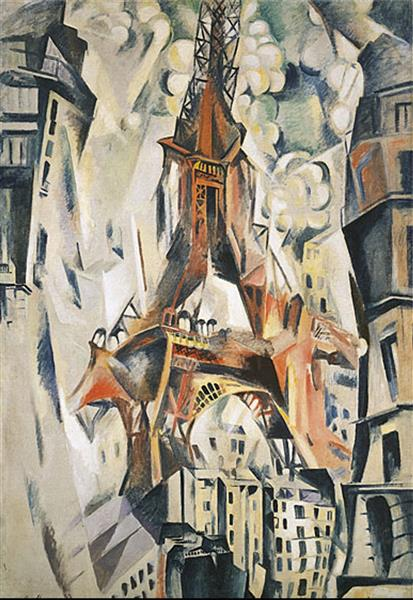 Eiffel Tower, 1911 - Robert Delaunay