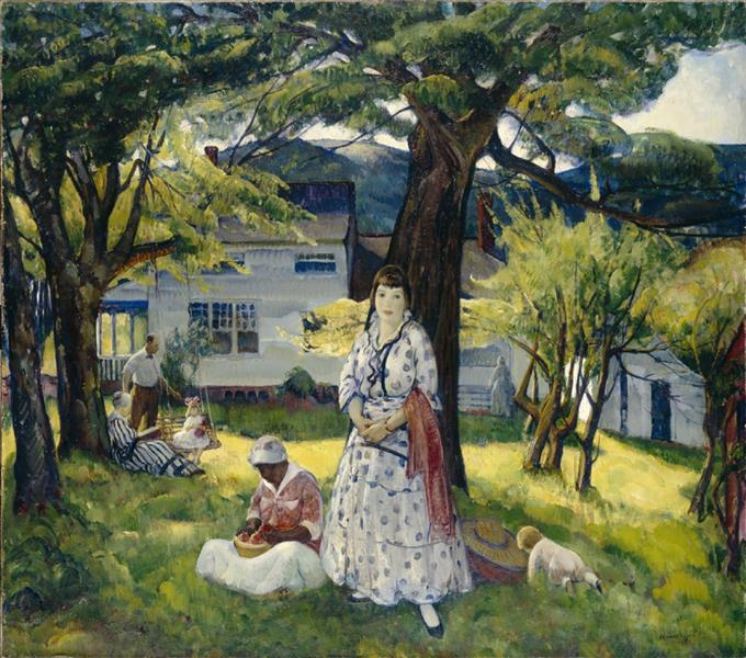 In the Country, 1916 - Leon Kroll
