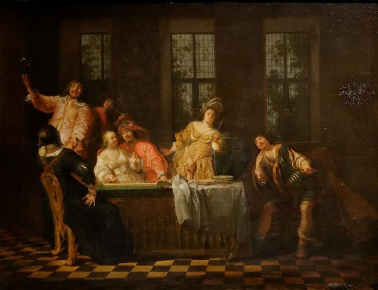 Scène Galante - Nikolaus Knüpfer