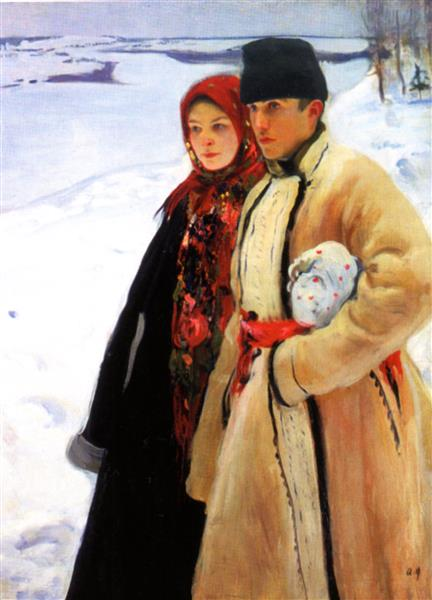 Winter, 1905 - Oleksandr Murashko