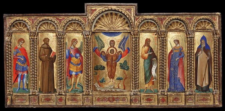Polyptych, 1350 - Paolo Veneziano