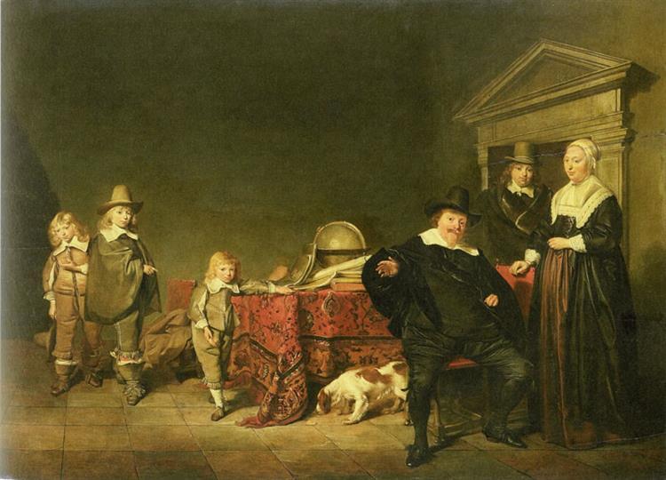 Family Group, 1642 - Pieter Codde