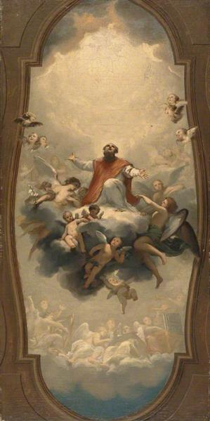 Saint Eusebius Carried to Heaven, 1757 - Anton Raphael Mengs