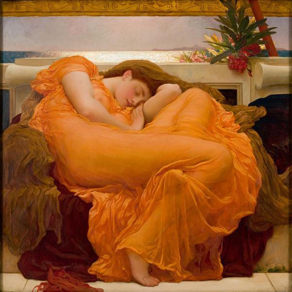 June flamboyante, 1895 - Frederic Leighton