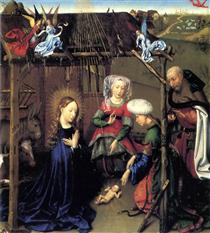 Nativity - Jacques Daret