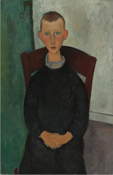 The Caretaker's Son, 1918 - Amedeo Modigliani