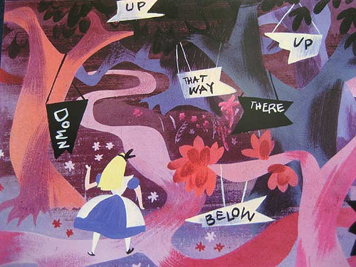 Alice in Wonderland - Mary Blair