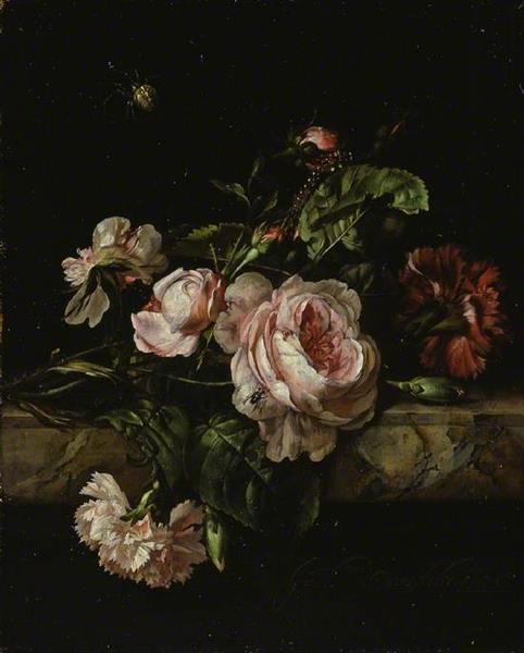 Group of Flowers, 1675 - Willem van Aelst