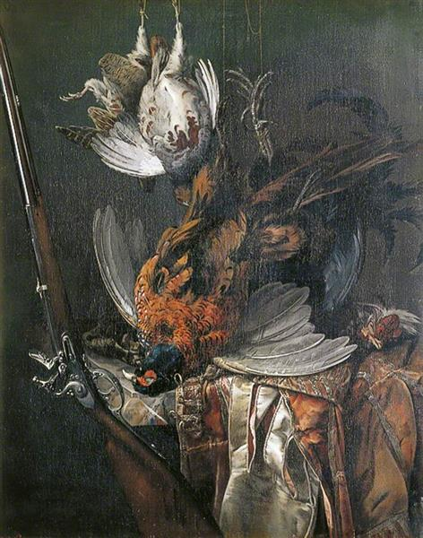 Still Life with Dead Game, 1673 - Willem van Aelst