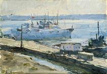Fishing Harbor of Illichivsk - Мучник Леонід Овсійович