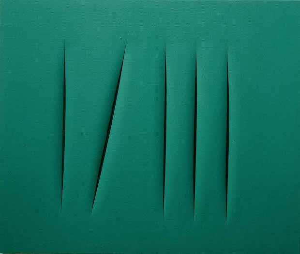 Concept Spatial, c.1968 - Lucio Fontana