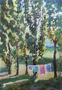 Laundry is Drying - Viktor Shatalin
