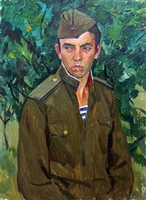 Portrait of a Military Man - Viktor Shatalin