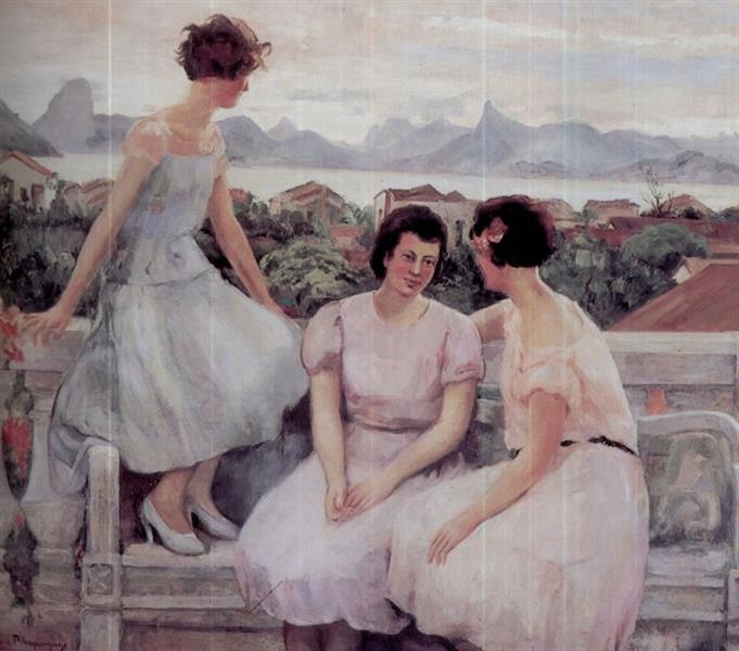 Moças - Georgina de Albuquerque