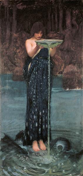 Circe Invidiosa, 1892 - John William Waterhouse