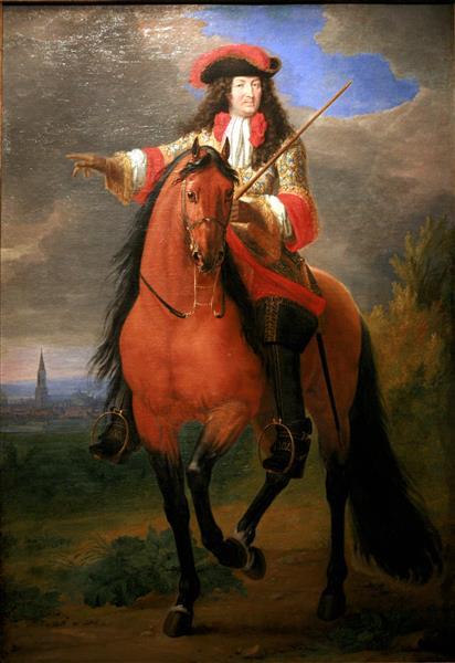 Ludwig XIV., 1685 - Adam Frans van der Meulen