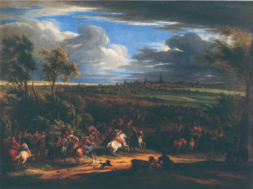 Siege of Courtrai During the War of Devolution, 1667 - Adam van der Meulen