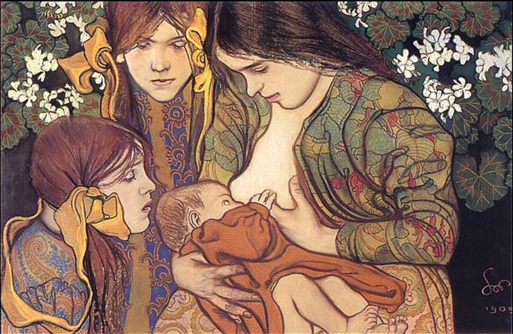 Motherhood, 1905 - 斯坦尼斯拉夫·维斯皮安斯基