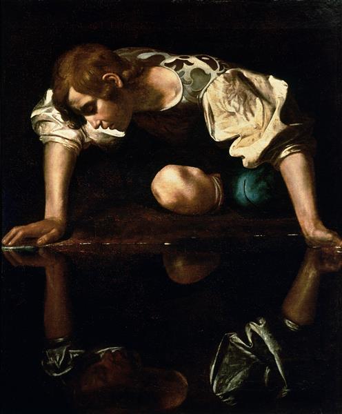 Narcissus - Caravaggio