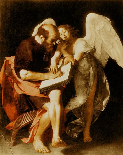 Saint Matthew and the Angel, 1602 - Caravaggio