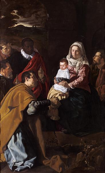 Adoration of the Kings, 1619 - Diego Velazquez