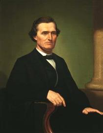 Portrait of Lewis Allen Dicken (l.a.d.) - George Caleb Bingham