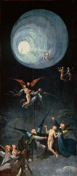 Ascent of the Blessed, 1500 - 1504 - Hieronymus Bosch