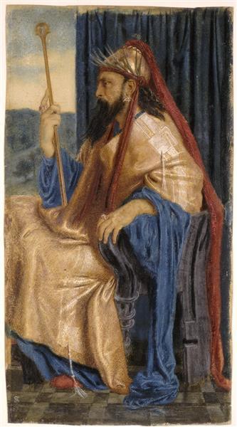 King Solomon, 1874 - Simeon Solomon