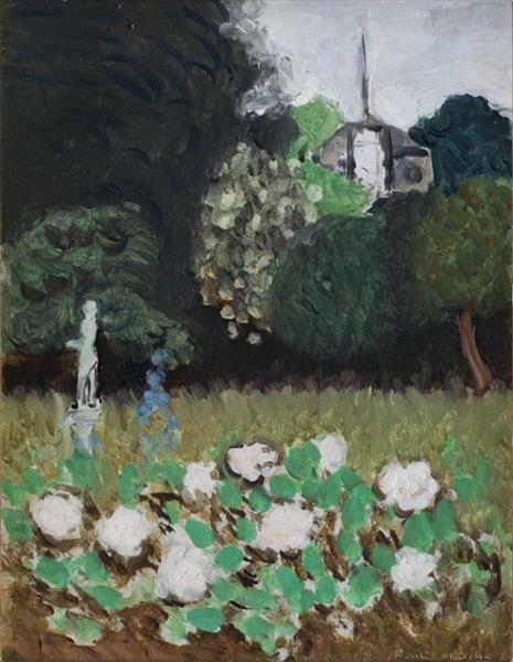 Le jardin 1920 henri matisse for Le jardin henri vinay