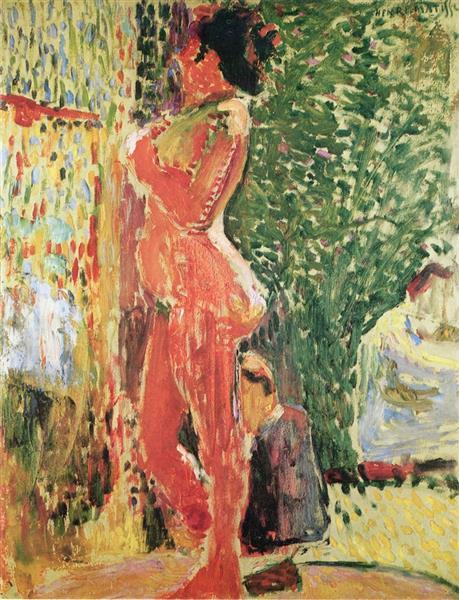 Nude in the Studio, 1899 - Henri Matisse
