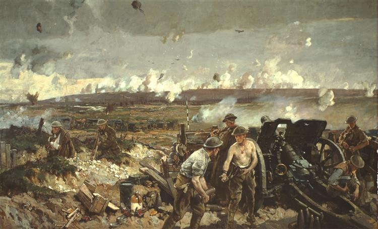 Battle of Vimy Ridge, c.1918 - Річард Джек