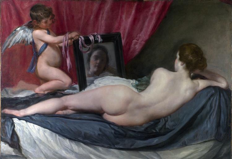 The Rokeby Venus, c.1644 - 1648 - Diego Velazquez