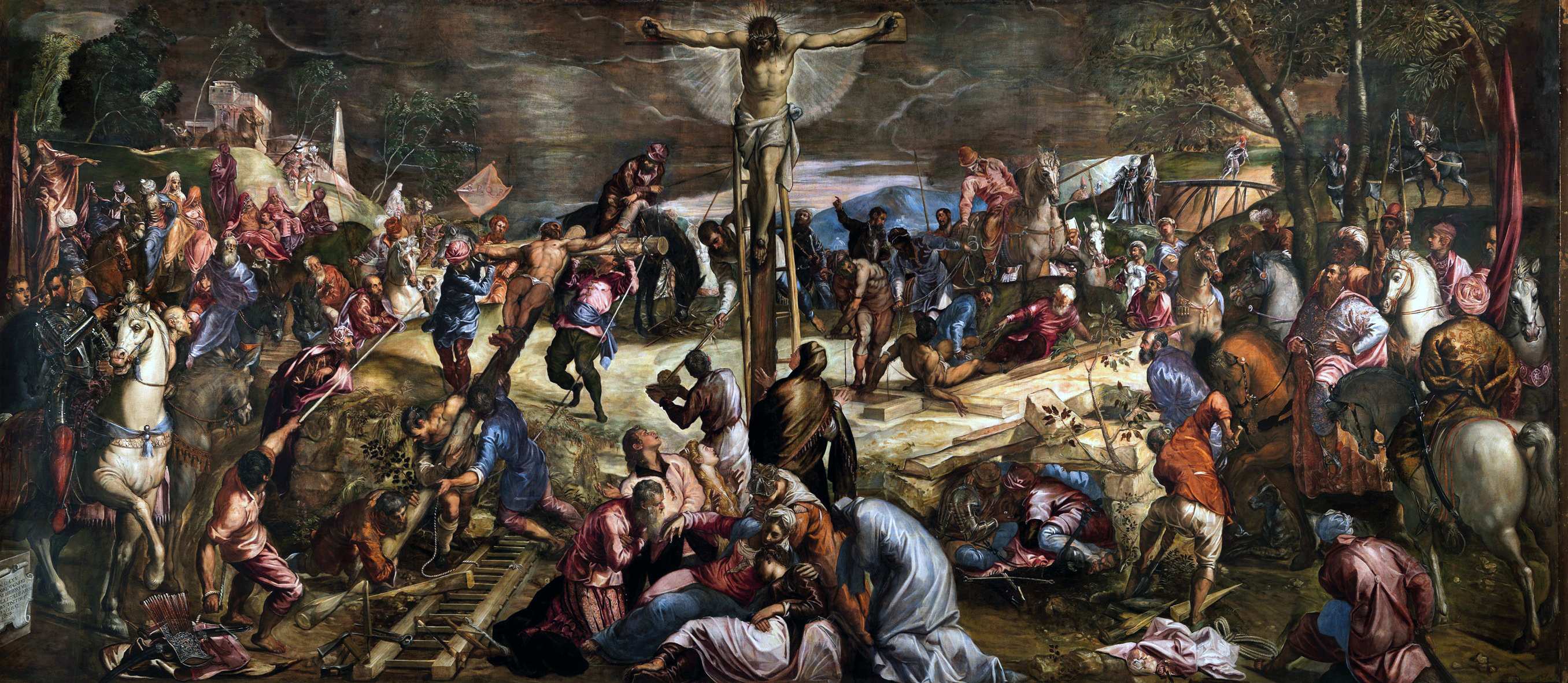 The Good Samaritan, 1563 - Jacopo Bassano - WikiArt org