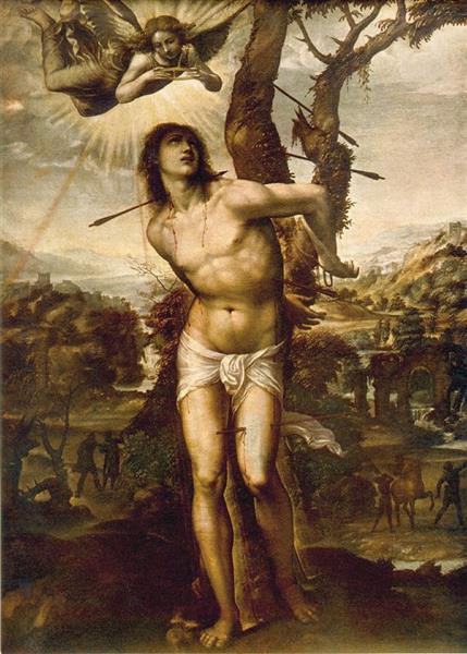 St Sebastian, 1525 - Giovanni Antonio Bazzi