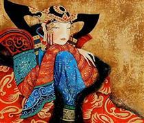 A Woman in Red - Zaya