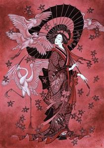 Japanese Motif - Zaya