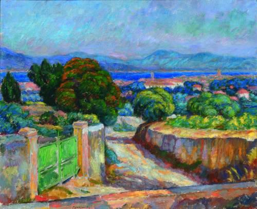Zielona Brama, St Tropez, 1909 - Józef Pankiewicz