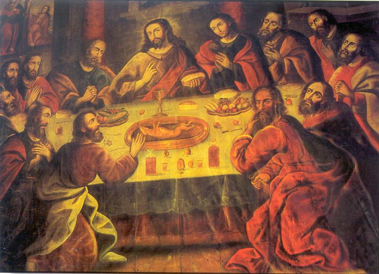 The Last Supper, 1753 - Marcos Zapata
