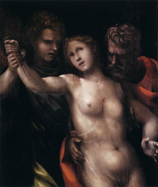 The Death of Lucretia, 1513 - Il Sodoma