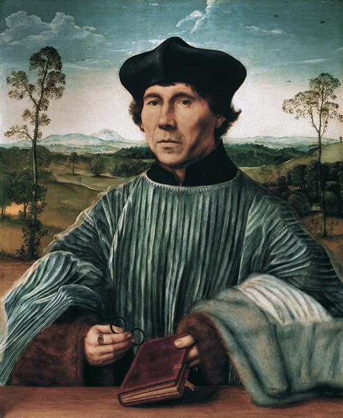 Der Kanonikus Stephan Gardiner - Quentin Massys