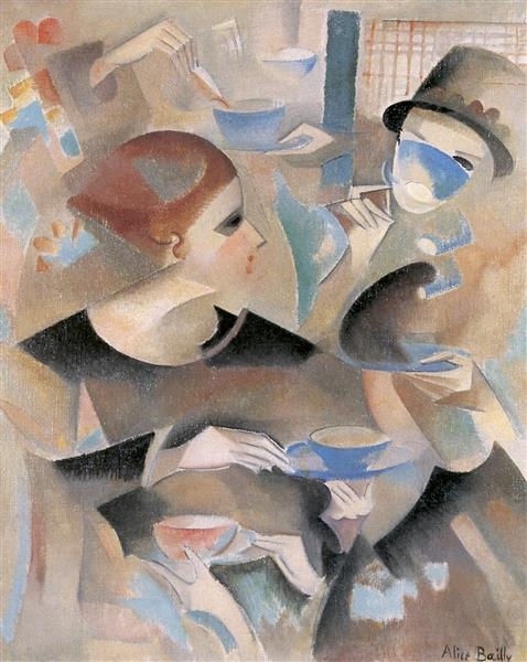 Tea Time, 1920 - Alice Bailly